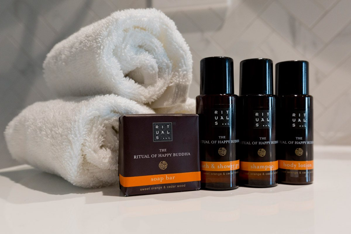 Bathroom Amenities at Christchurch Crowne Plaza Hotel & Accommodation